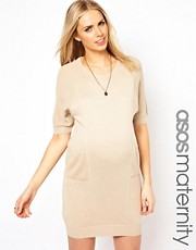 ASOS Maternity Exclusive Knitted Cocoon Jumper Dress