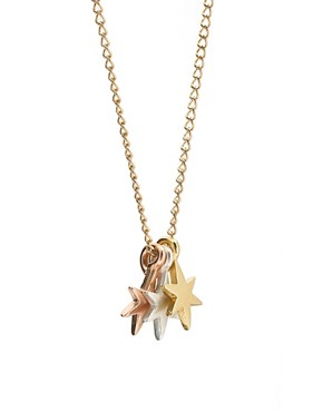 Image 4 ofDogeared 3 Wishes Little Bright Stars Necklace