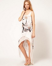 Sass & Bide - Life is A Collage - Vestito di seta a fiori