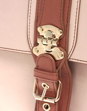 Image 4 ofRiver Island Large Buckle Satchel