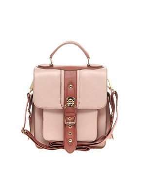 Image 1 ofRiver Island Large Buckle Satchel