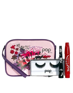 Image 1 ofPOP ASOS Exclusive Party Make Up Set SAVE 32% With Free Make Up Bag