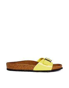 Birkenstock Madrid Sun Flat Sandals - yellow