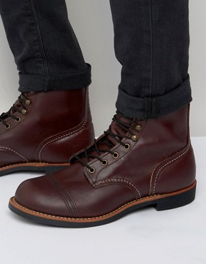 Red Wing Iron Ranger Leather Boots