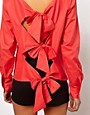 Image 3 ofASOS Shirt With Bow Back Detail