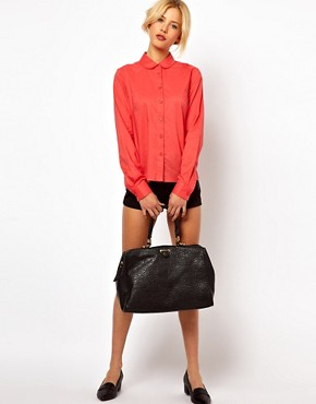 Image 4 ofASOS Shirt With Bow Back Detail