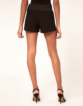 Image 2 ofASOS Bengaline Tab Front Shorts