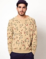 Penfield Sweatshirt with Floral Print