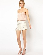 Frock and Frill Deco Sequin Shorts
