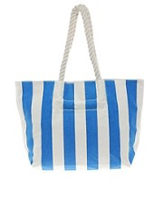French Connection Nautical Stripe Beach Bag