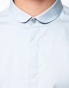 Image 2 ofASOS Smart Shirt With Curve Collar