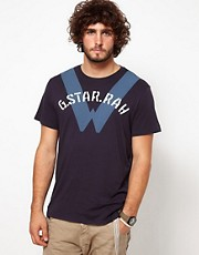 G Star T-Shirt Recruit Imres W Logo