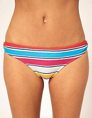 French Connection Bright Stripe Ring Bikini Pant