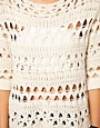Image 3 ofASOS Crochet Slouch Jumper