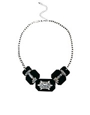 Oasis Crystal Statement Collar Necklace