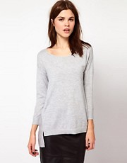 Warehouse Woven Slouch Back Jumper