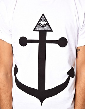 Image 3 ofAbandon Ship T-Shirt with Seeing Eye Print