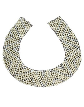 Image 2 ofASOS Pearl and Diamante Collar