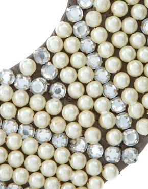 Image 3 ofASOS Pearl and Diamante Collar