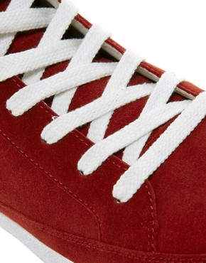 Image 2 of ASOS Trainers in Suede