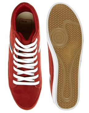 Image 3 of ASOS Trainers in Suede