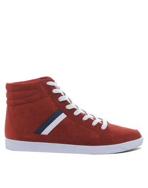 Image 4 of ASOS Trainers in Suede