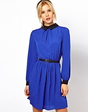ASOS Skater Dress With Collar
