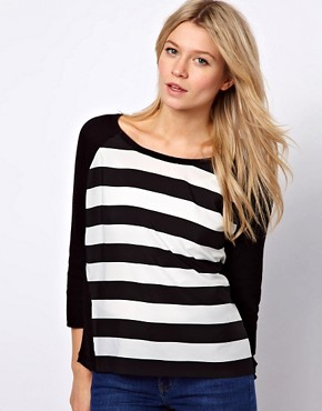 Image 1 ofOasis Jumper with Woven Front Panel