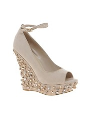 Carvela Gigi Studded Wedges