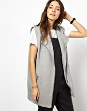 ASOS Sleeveless Biker Jacket