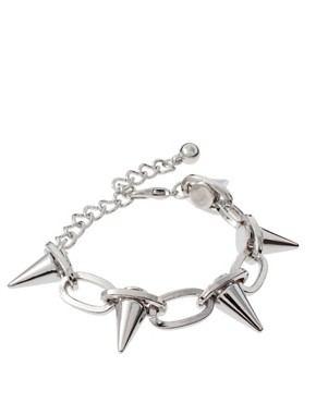 Image 1 ofASOS Spike Link Bracelet