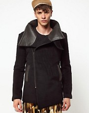 Unconditional New Funnel Neck Coat