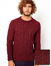 ASOS  Pullover mit Zopfmuster