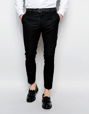 River Island Smart Trousers In Slim Fit In Black