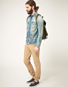 Image 4 ofPRPS Goods &amp; Co Chambray Shirt
