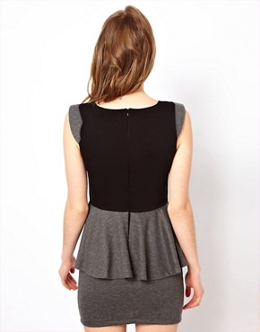 Image 2 ofd.RA Jersey Peplum Dress