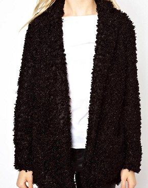 Image 3 ofRiver Island Oversized Faux Fur Coat