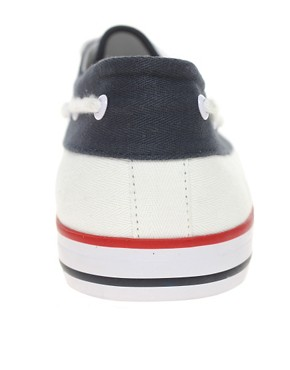 Image 3 ofASOS Boat Shoes in Tricolour