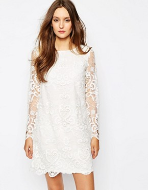 French Connection Nebraska Dress in Lace