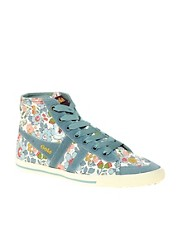 Gola Liberty Quota Betsy Blue High Top Trainers