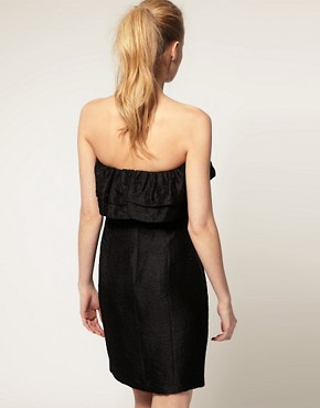 Image 2 ofThread Social Strapless Dress With Ruffles