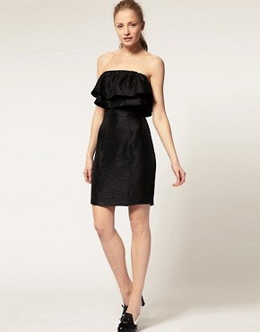 Image 4 ofThread Social Strapless Dress With Ruffles