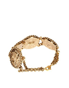 Image 2 of Low Luv By Erin Wasson Rope Wrapped Coin Bracelet