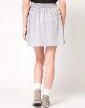Image 2 ofAmerican Apparel Jersey Pocket Skirt