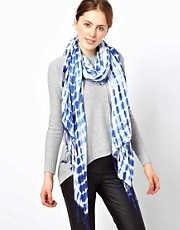 Warehouse Tie Dye Studded Scarf