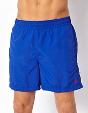 Polo Ralph Lauren Blue Hawaiian Swim Shorts