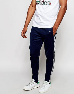 adidas Originals Beckenbauer Skinny Joggers With Stirrups AB7764