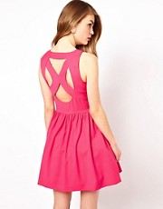 Oasis Alfrin Cross Back Dress