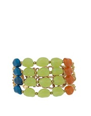 Nali Multi Chain Bracelet with Beading