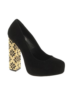 Image 1 ofASOS PULSE Suede Platforms